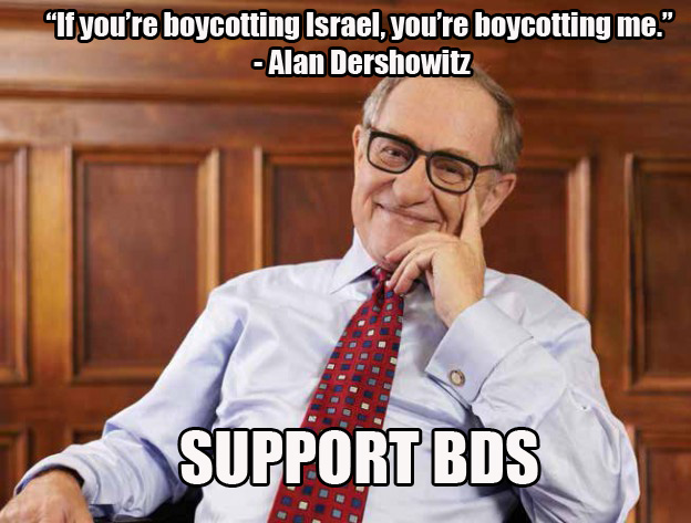 Dershowitz BDS 1